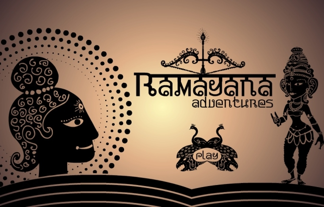 Ramayana Adventures - intro screen