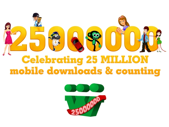 Celebrating 25 million mobile downloads & counting..