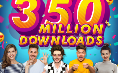 From 250 Million to 350 Million Downloads, and Counting!